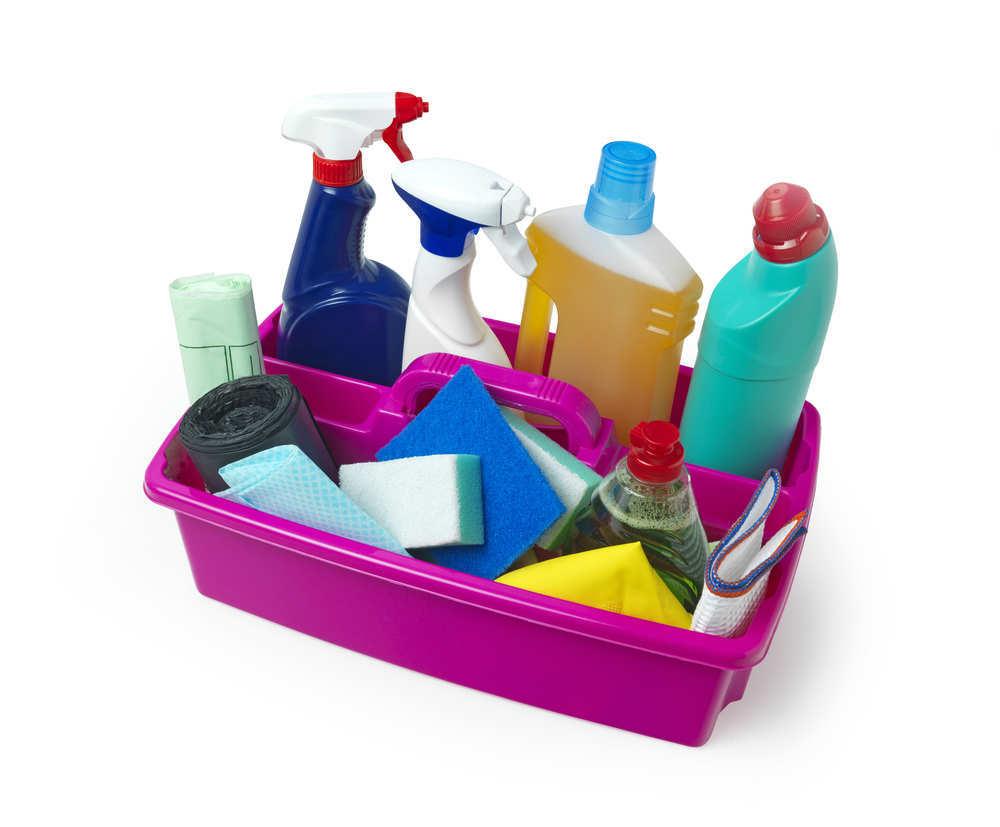 Productos de limpieza sin agentes químicos