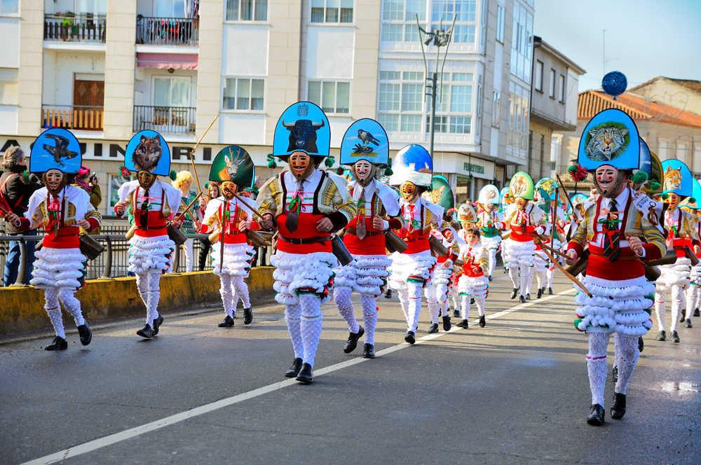 El triángulo mágico del carnaval de Ourense es una gran recomendación para disfrutar